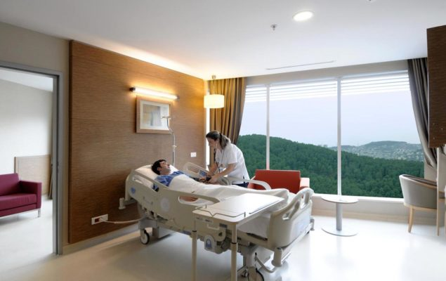 Plastic Surgery Clinic patient room