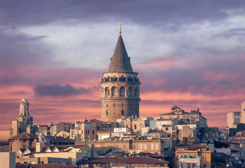 The district Beyoğlu